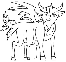 Goat Digimon Lines by TheAuty-sama