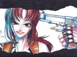 Revy  Black Lagoon by Conzy94