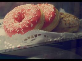 pink doughnut. i love cookies by sekretna