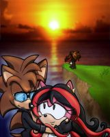 .:REQUEST:. Memories Never Set Like the Sun by SonicFF