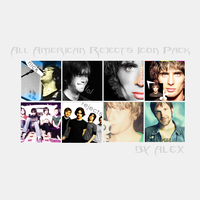 All American Rejects Icon Pack by theatricalpunk