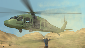 UH-60 Blackhawk by testedpancake