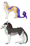 Buyable Adoptables SET 2 (CLOSED) by TheWolfsgirl90