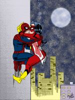 Spider love. by nailsin