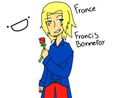France: Francis Bonnefoy by art1st-guy