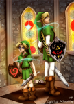 Day 3 - Link: The Hero of Time by CelticMagician