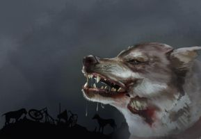 Beware Of The Zombie Dogs by rabbit-season