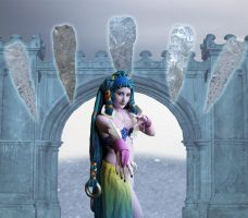 Shiva, the Empress of Ice by DoctorEvil06