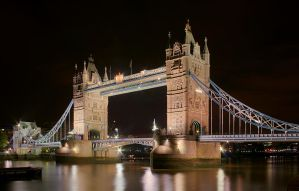 Tower Bridge at Night by cody29