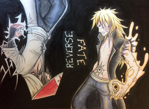 Naruto fanart : Fate Reverse by KeiraTheTiger