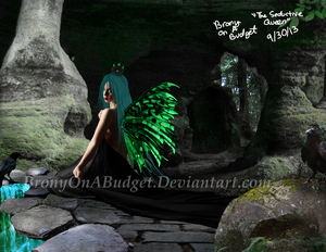 Chrysalis: The Seductive Queen by BronyOnABudget
