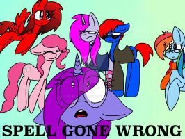 Spell Gone Wrong preview image by S-K-Y-L-I