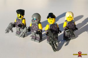 Gears of War 3 LEGO Minifigs by Saber-Scorpion