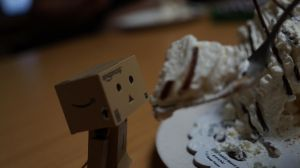 Danbo's Cake Craving (2) by passordie