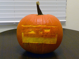 Oregon Trail Pumpkin 2 by ceemdee