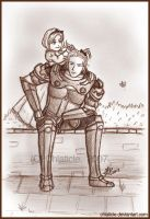 Basch: Guardian...Baby-sitter by Chiaticle