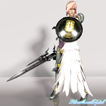 Final Fantasy XIII-2 - Lightning by SilverMoonCrystal