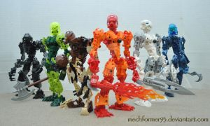 Bionicle Toa Mata Revamped by Mechformer93