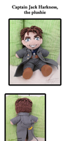 Captain Jack Harkness - the plushie by k-tiraam