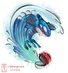 kyogre watercolor by lorestra