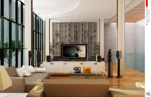 :: Living Room Open Space 1 :: by eja87
