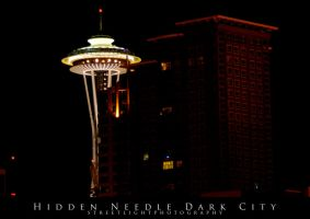 Hidden Needle Dark City by UrbanRural-Photo