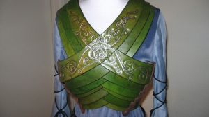 Elvin lotr female chest armor by Raintouched