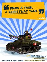 A CHRISTMAS tank! -Pt.1 by wingsofwrath