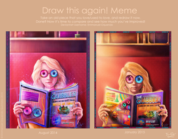 DRAW THIS AGAIN MEME: SPECTRESPECS 2015 by Emmanuel-Oquendo