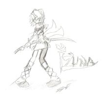Izuna Fanart by ChaosPhantom