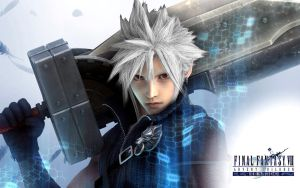 Cloud Strife Silver Hair 2 by RyuMakkuro