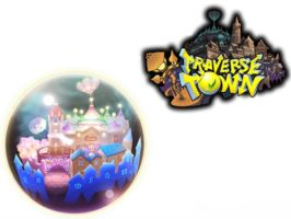 Traverse Town: Kingdom Hearts 3D by VexenRandomDrawerGuy