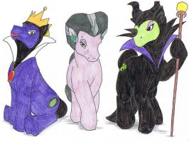 My Little Villian Ponies 1 by Tewateroniakwa