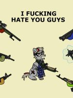 I F-ing hate you guys by Ace156212