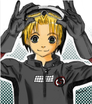 hikaru shindo- coloured by pockii-chan