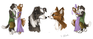 Romeo and Juliet - Canines by fidele