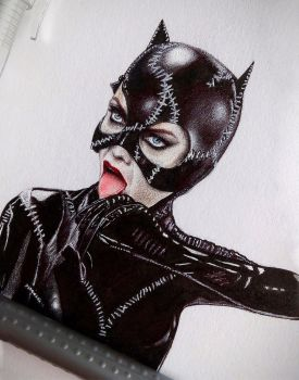 Catwoman by Nastya-An