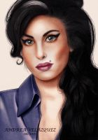 Amy Winehouse by andreavelazquez