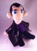 Ninth Doctor Who Plushie 1 by phooanimates