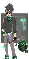Liam Strauss Slytherin Style! by DaGreatVincE