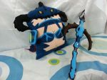League of Legends Dragonslayer Vayne Pillow by RbitencourtUSA