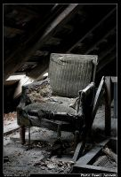 old armchair by janowski