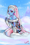 Monster High- Abbey Bominable by RavenNoodle