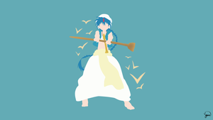 Aladdin (Magi) Minimalist Wallpaper by greenmapple17