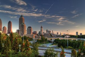 Atlanta Day HDR by fusk4