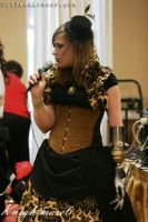 Steampunk Bustle Dress by ljvaughn