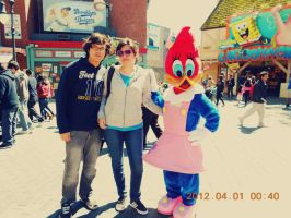 Woody Woodpecker's girlfriend by Beremod