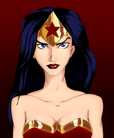 Wonder Woman by sowlish