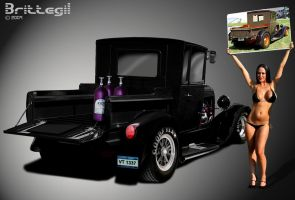 1929 Ford Pickup by Brittegil
