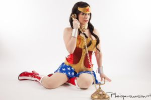 Pinup Wonder Woman by Photopersuasion